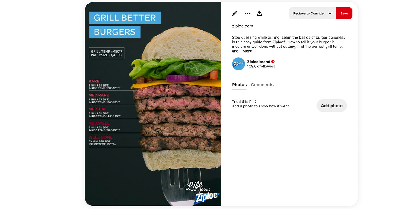 Ziploc Perfect Burger Pin Shoot_v1 20210203_Pinterest Shot